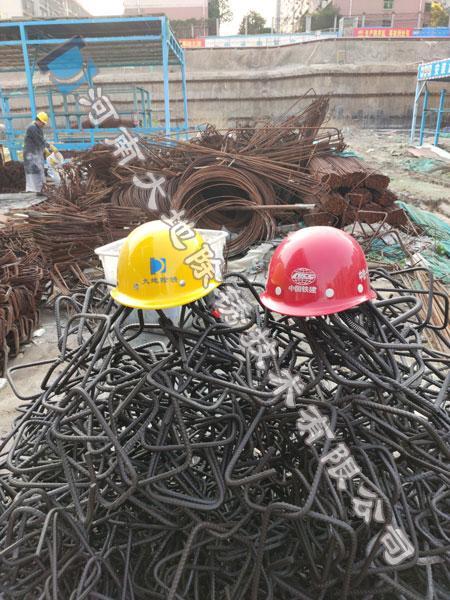 大地除锈中铁十六局郑州钢筋除锈项目