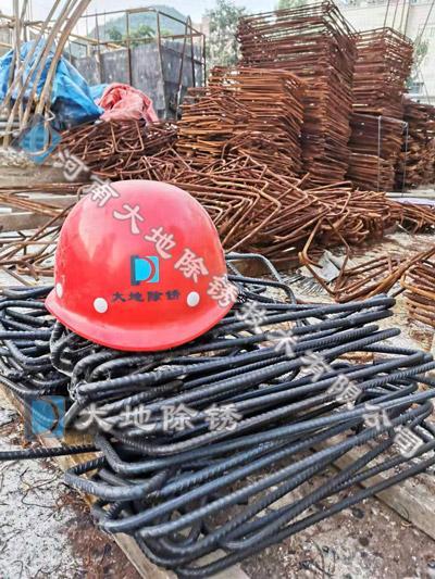 南昌建筑工地钢筋除锈剂除锈案例