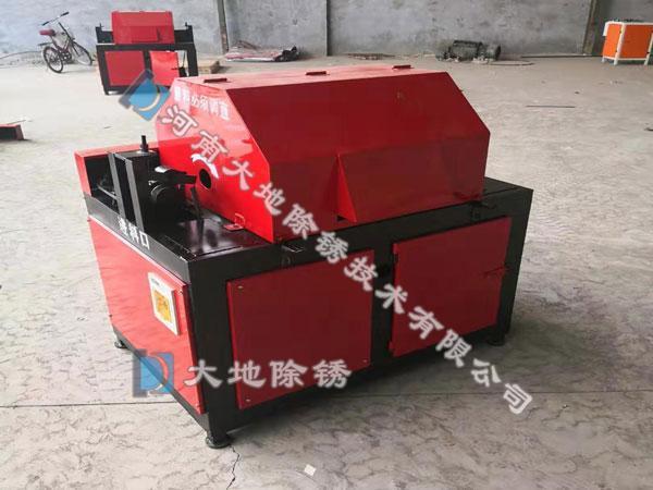 钢筋除锈机施工中的操作规范